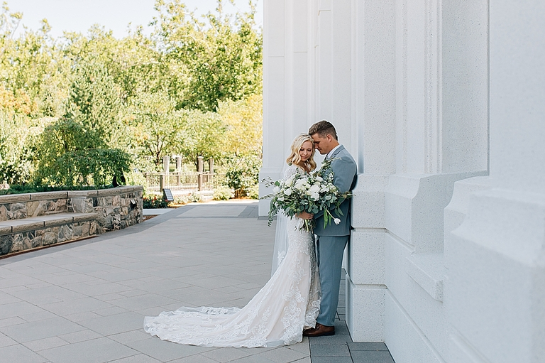 Brigham City Temple Wedding