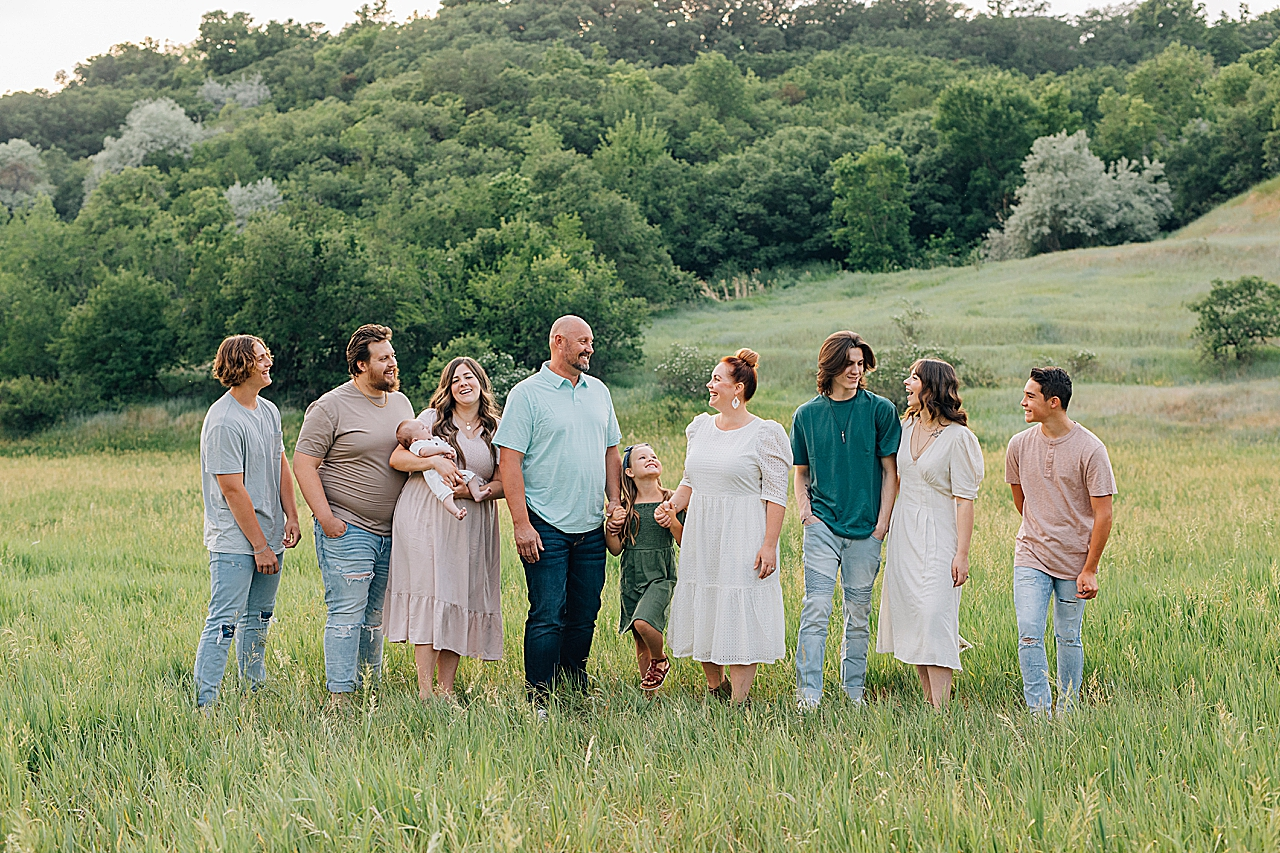 Kays Creek Layton Extended Family Pictures